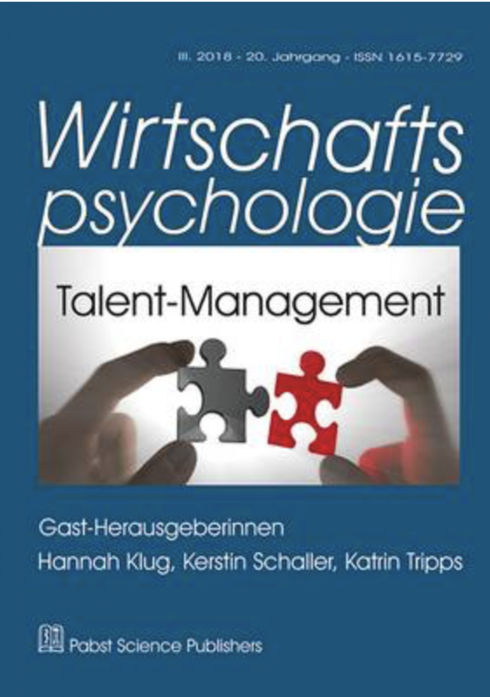 Talent but lost? Implikationen der Führungsmotivationsforschung für ein gender-sensitives, inklusives Talent-Management von Angelica V. Marte & Isabelle Ermer